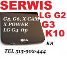 LG K10, K8, K4 wymiana zbitej szybki wyswietlacza