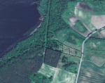 Działka w Dąbrowie nad jeziorem Myśliborskim